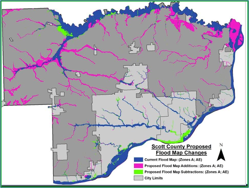 Flood Insurance Rate Map Iowa
