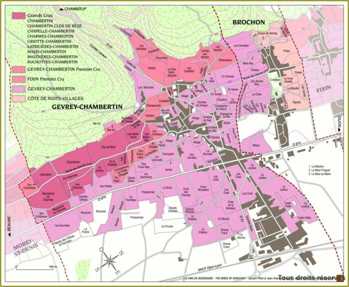 France Wine Appellations Map