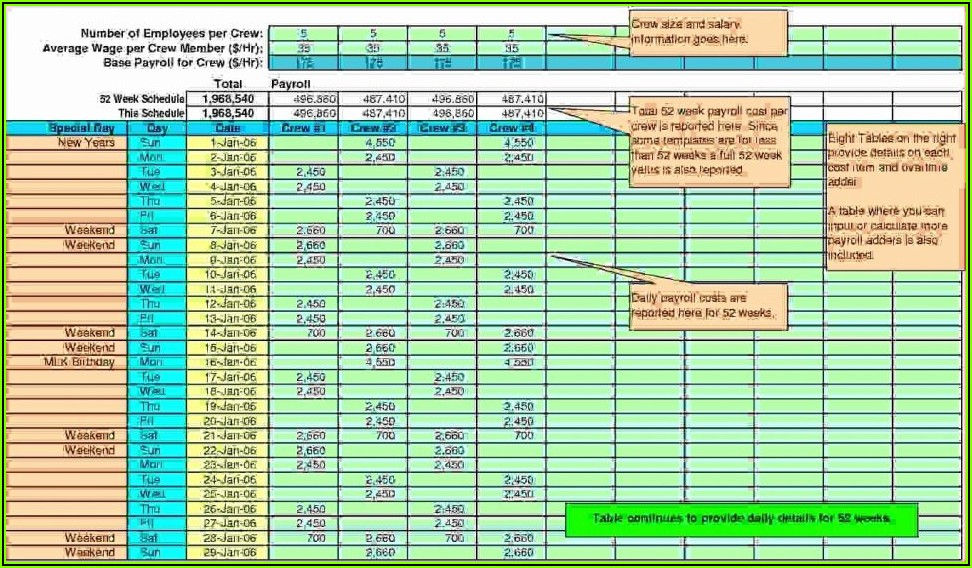 Free Excel Payroll Template Uk