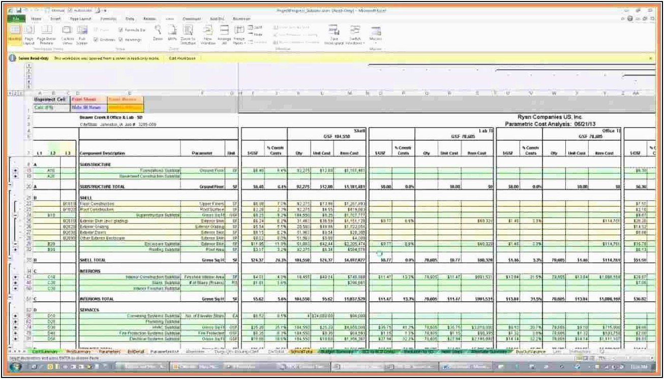 Free Excel Templates For Construction Estimating