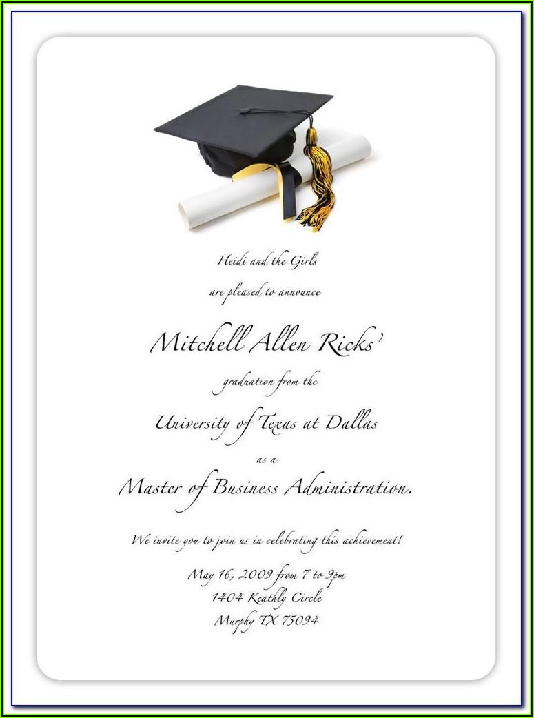 Free Graduation Card Templates