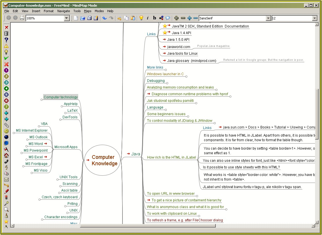 Free Mind Mapping Tool Download