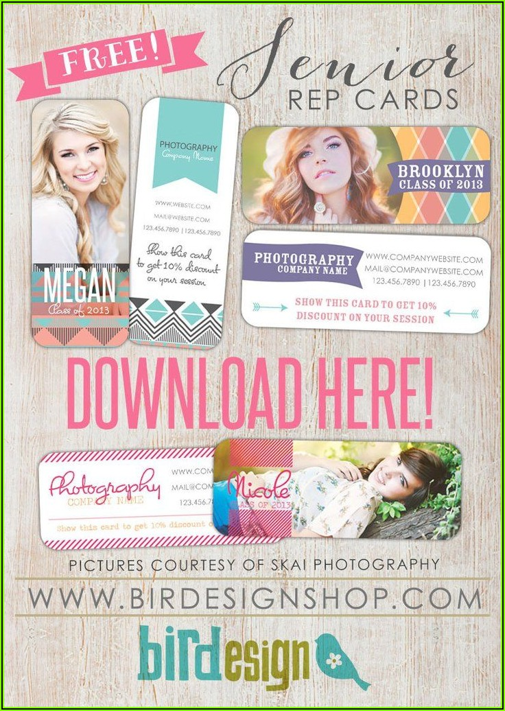 Free Senior Photography Marketing Templates