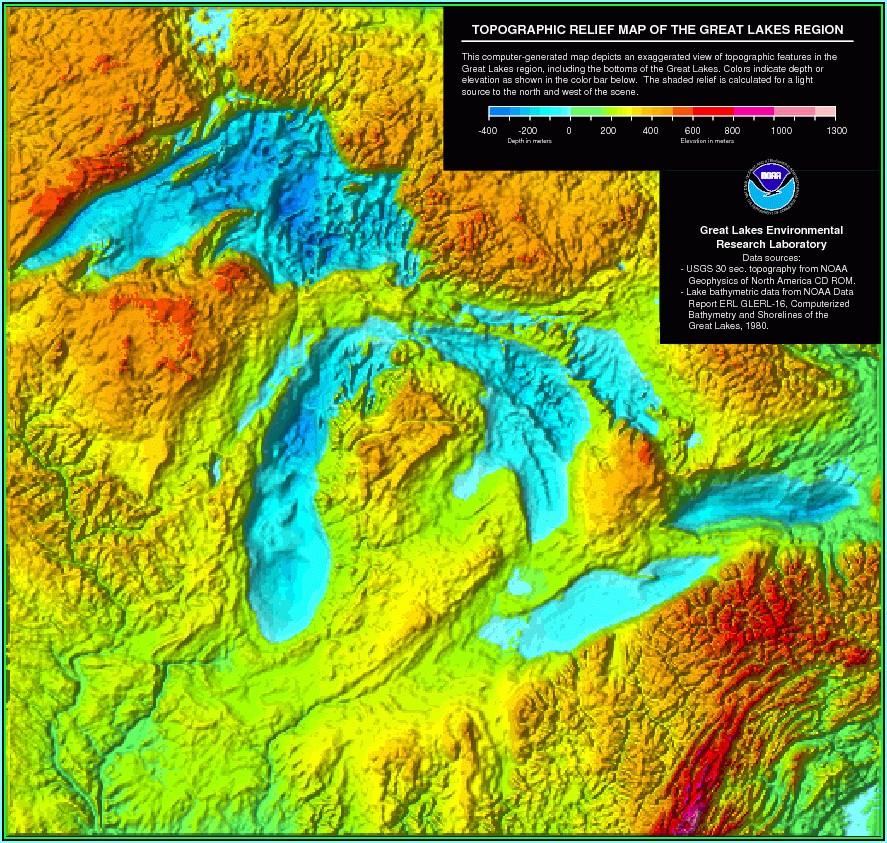 Free Topo Maps Of Michigan