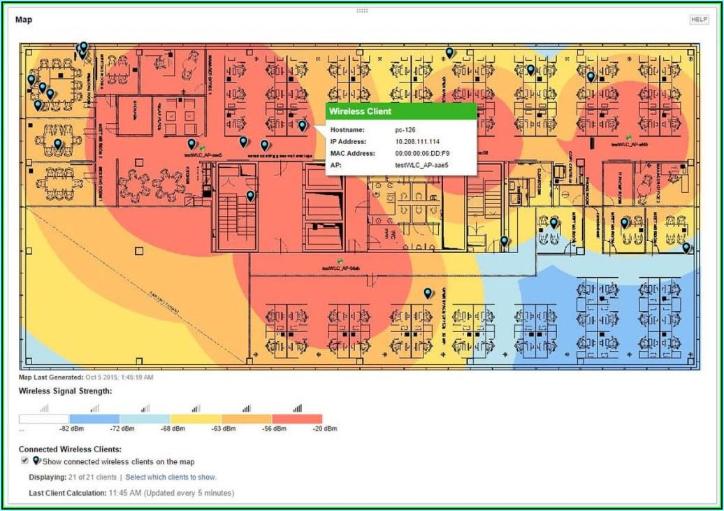 Free Wireless Heat Map Generator