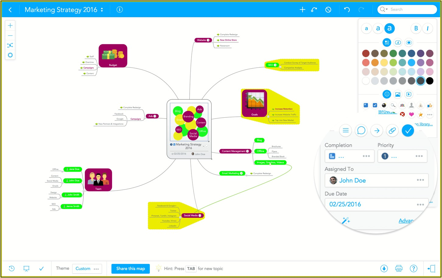 Freeware Mind Mapping Tools
