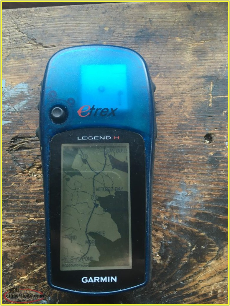 Garmin Etrex Legend H Maps