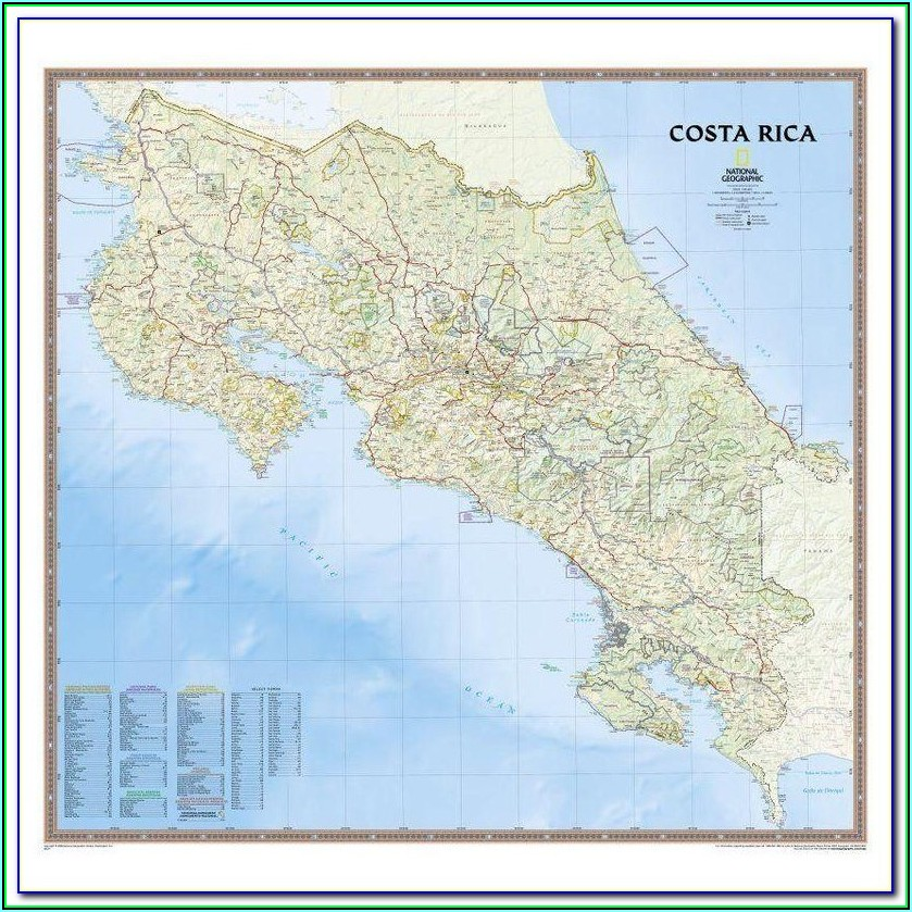 Garmin Maps For Costa Rica