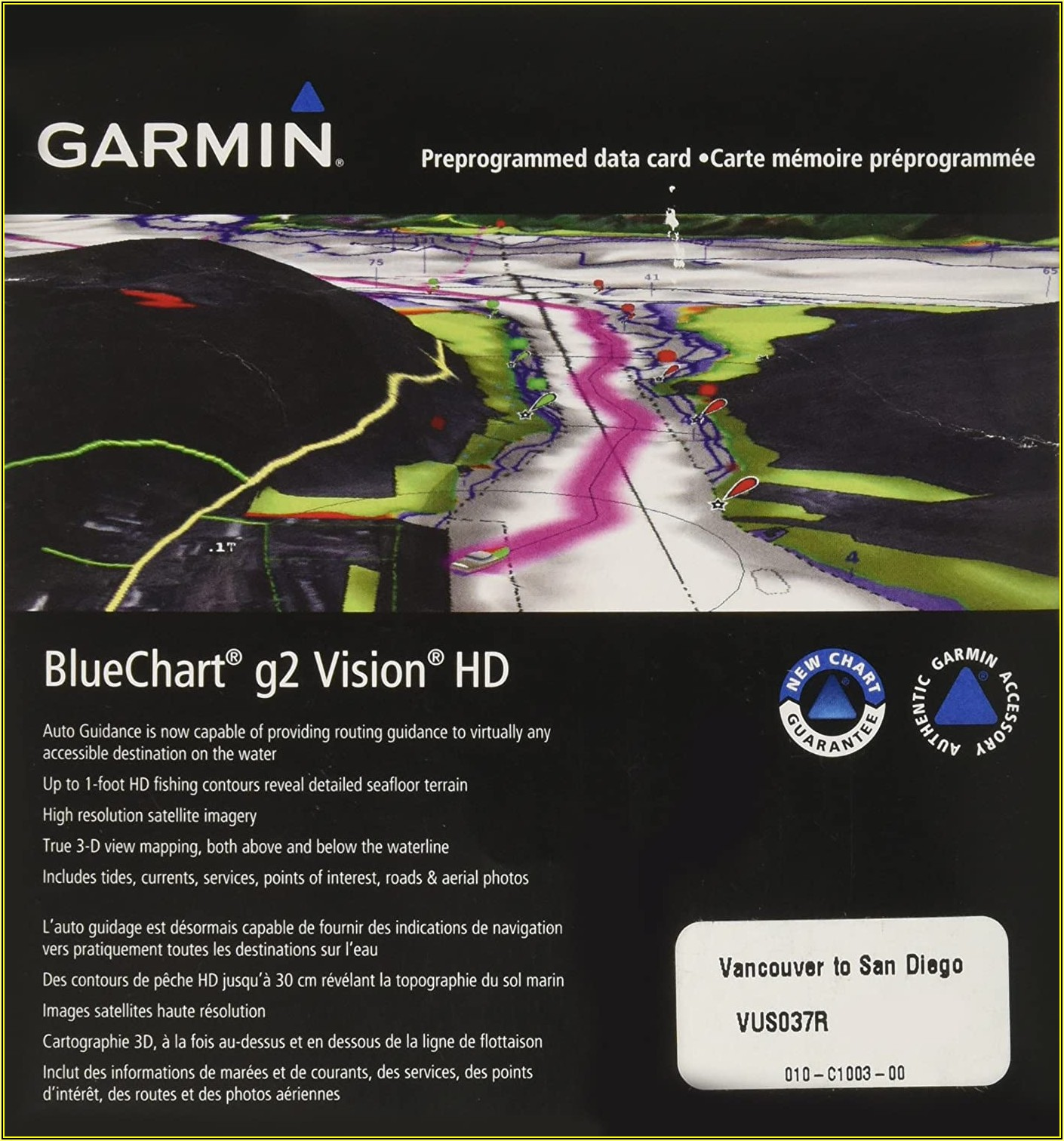 Garmin Marine Map Chips