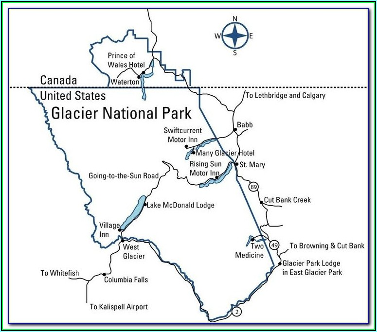 Glacier National Park Hiking Trails By Difficulty