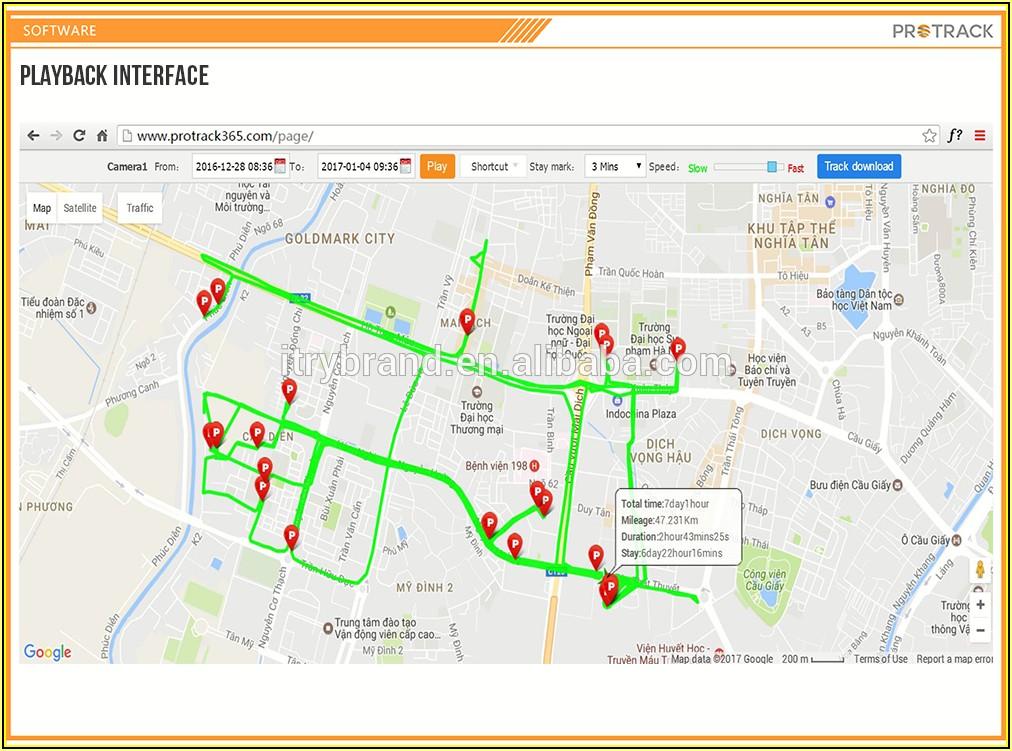 Google Maps Mobile Tracking Gps