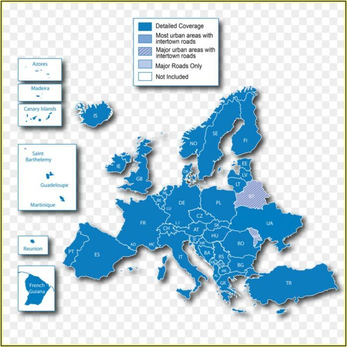 How To Download European Maps For Garmin Nuvi