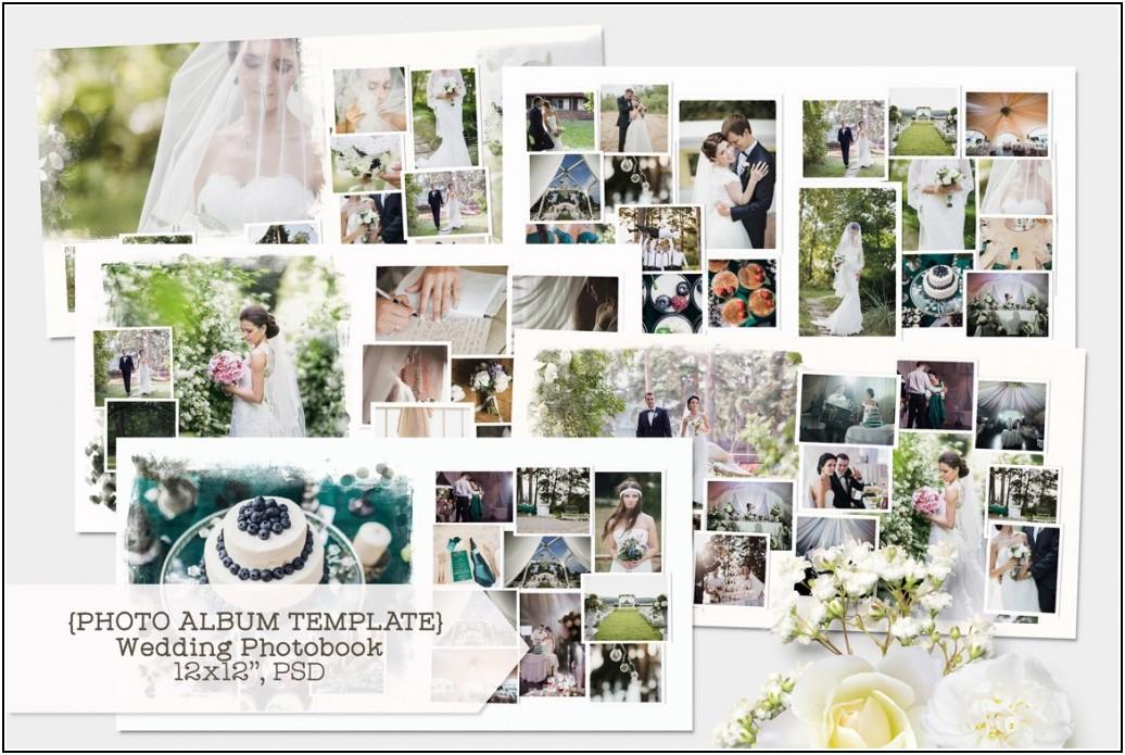 Indesign Wedding Photo Book Templates