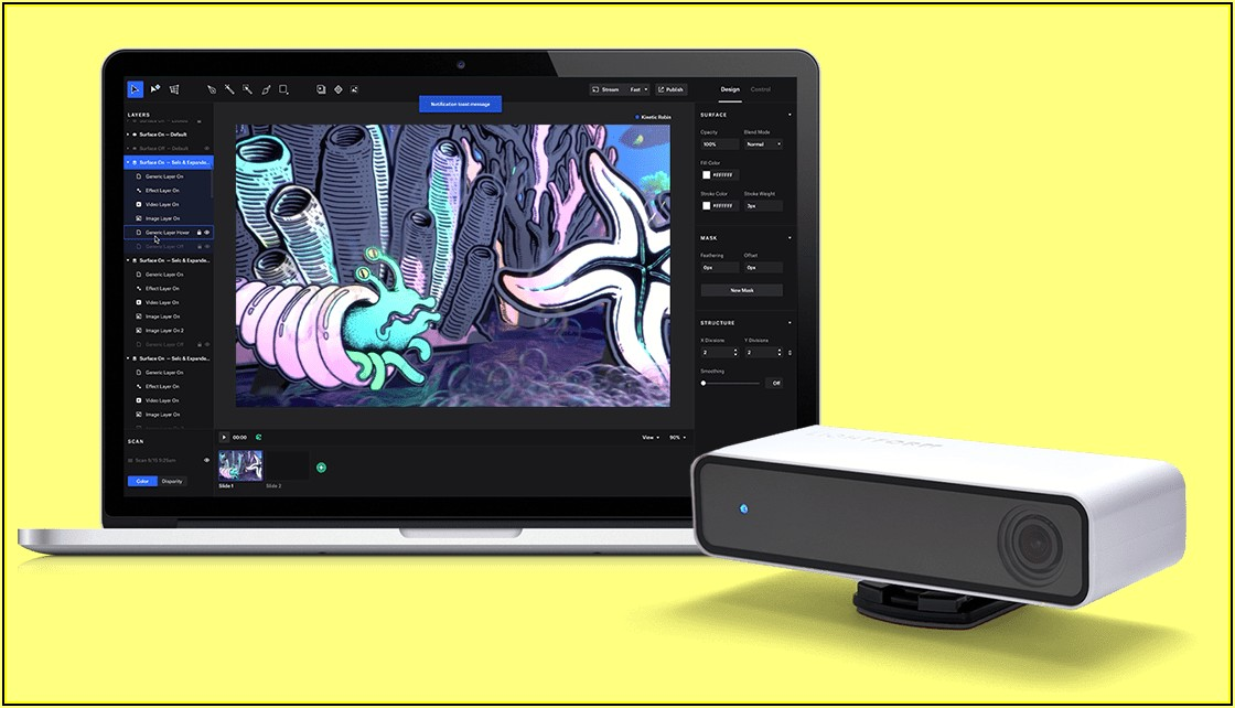 Interactive Projection Mapping Tools