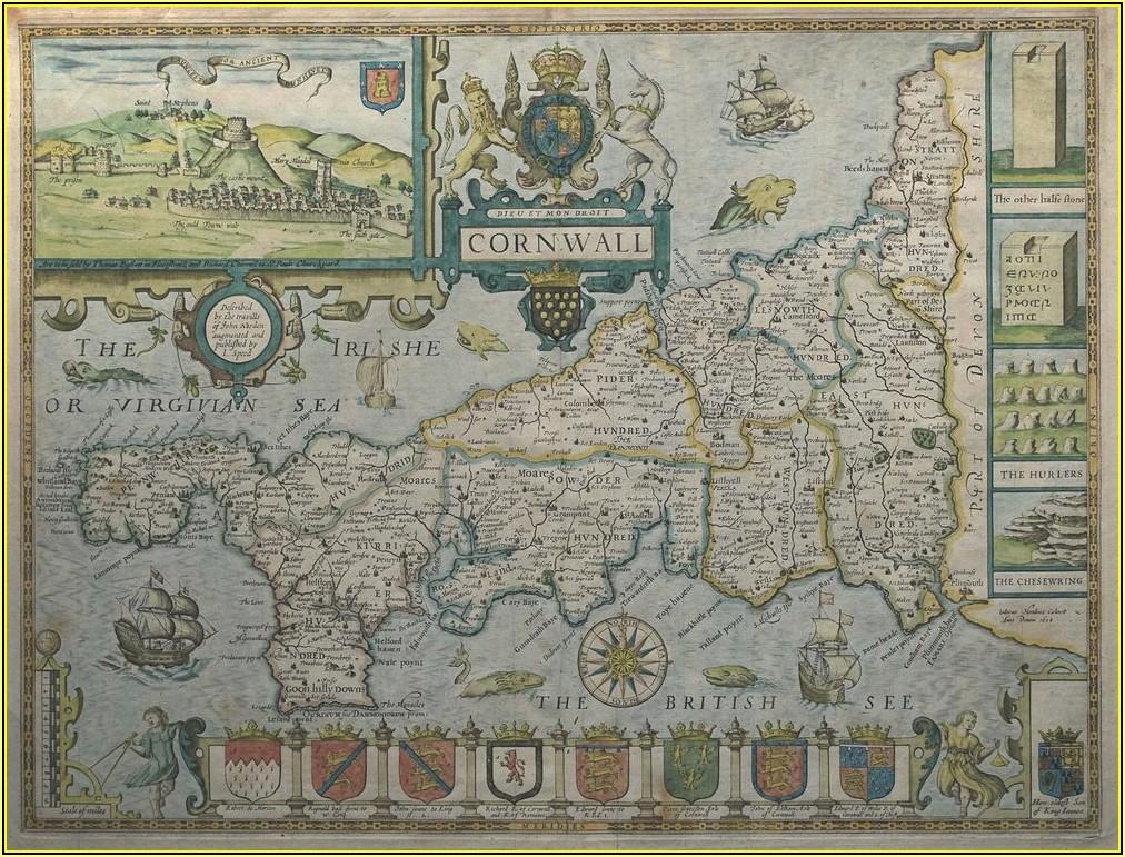 John Speed Original Antique Maps