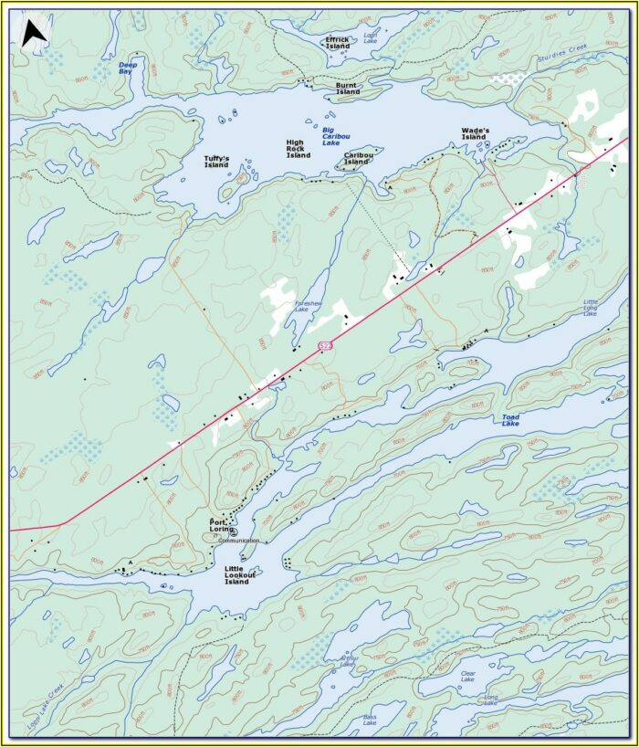 Kenai River Map Fishing Holes