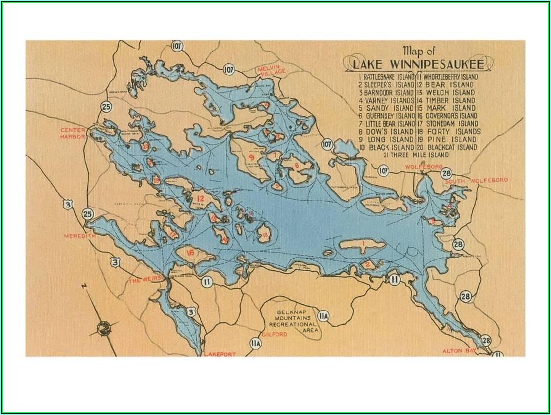 Lake Winnipesaukee Map App