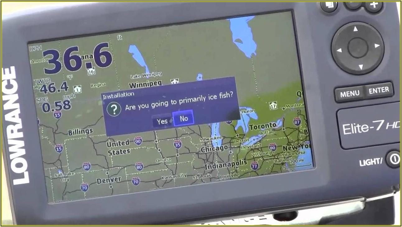 Lowrance Elite 7 Hdi Map Card