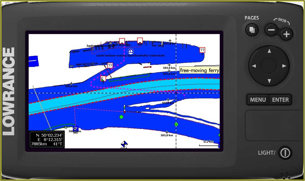 Lowrance Elite 7 Hdi Mapping Software