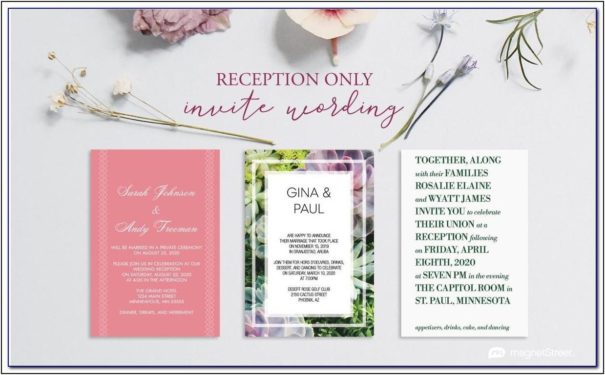 Luncheon Invitation Samples