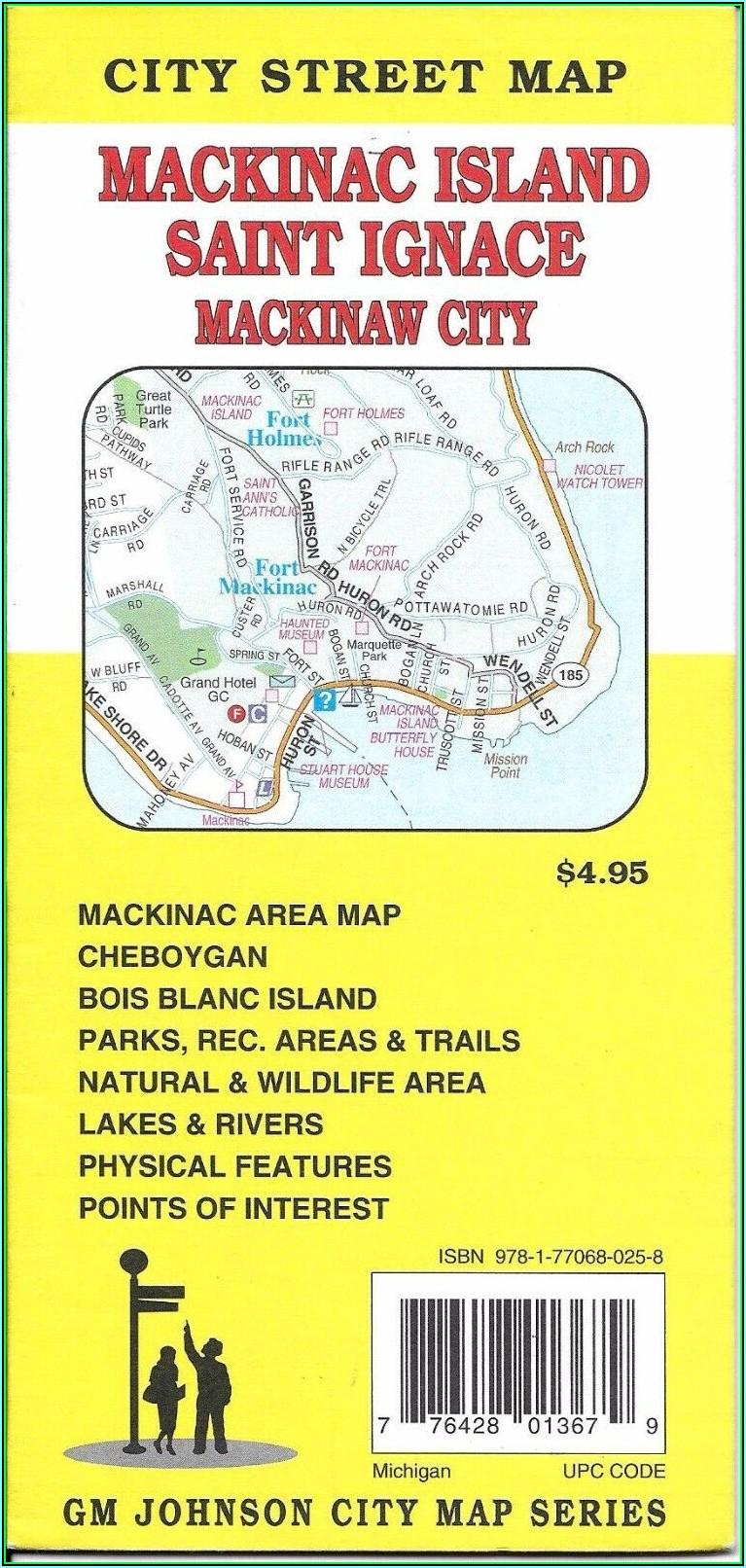 Mackinac Island Street Map