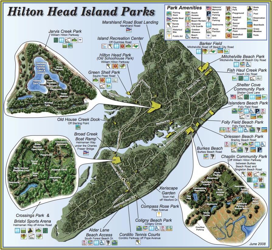 Map Of Hilton Head Island Restaurants