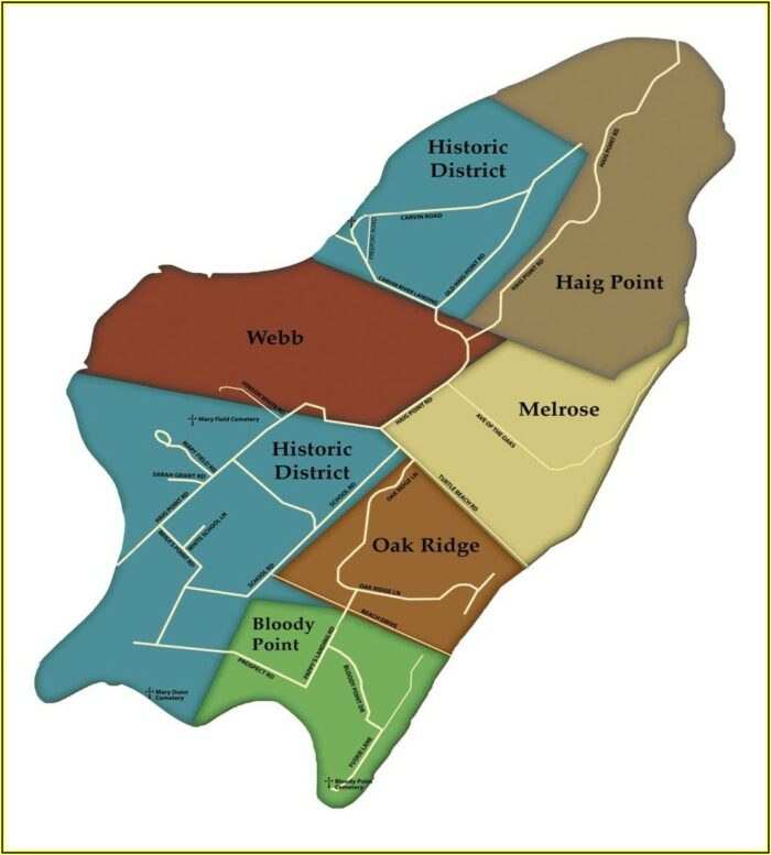 Map Of Hilton Head Resorts
