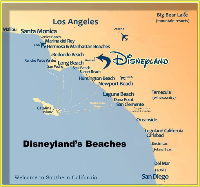 Map Of Hotels On Santa Monica Beach