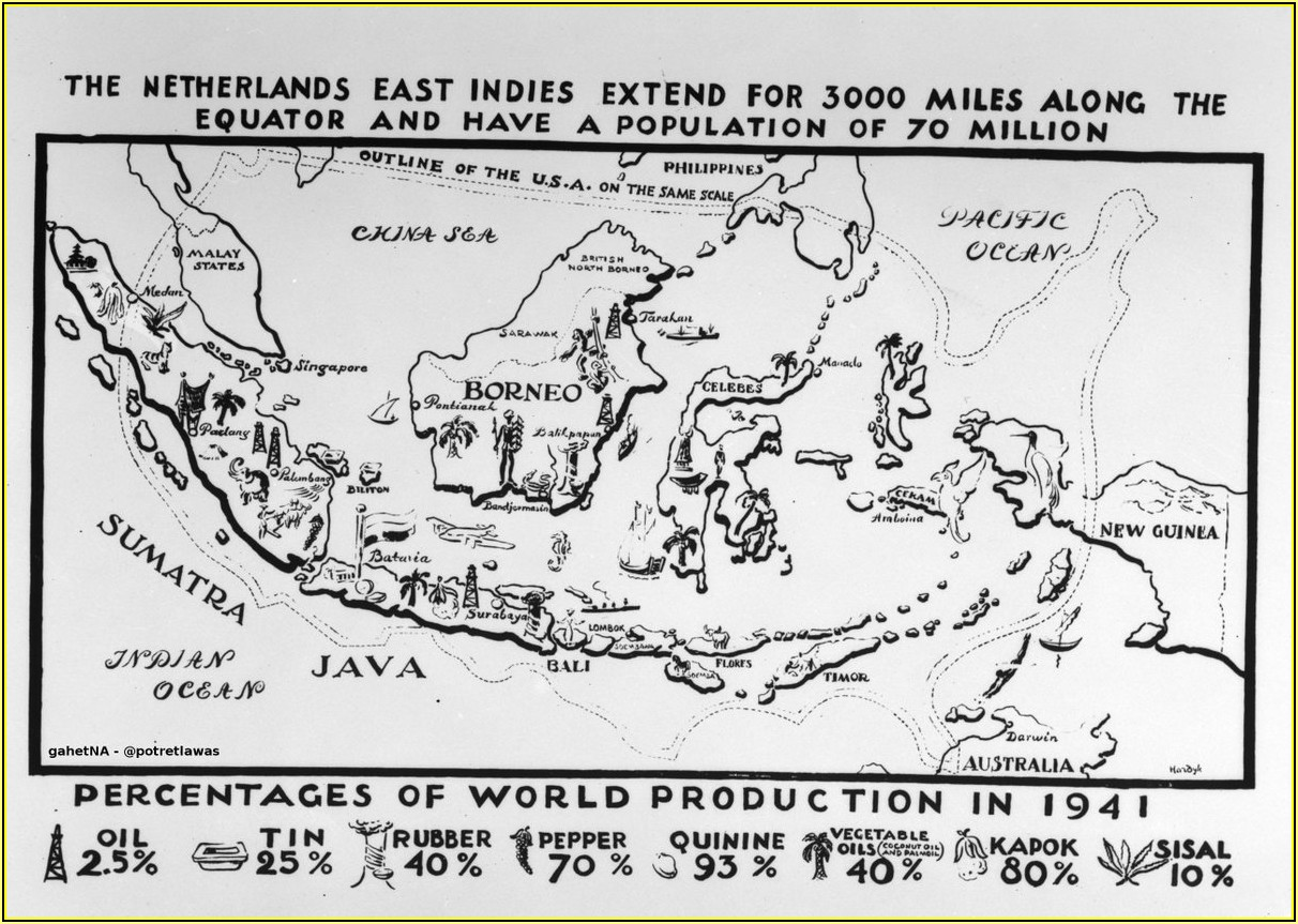Map Of Netherlands East Indies