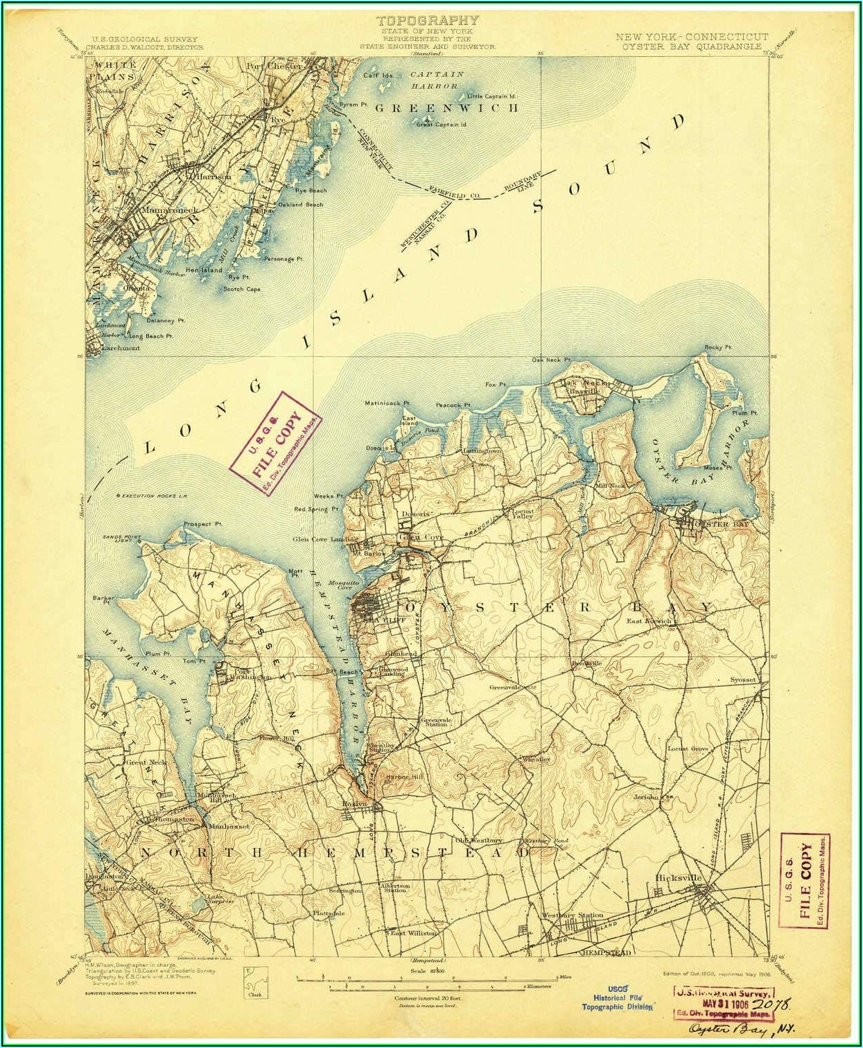 Map Oyster Bay Ny