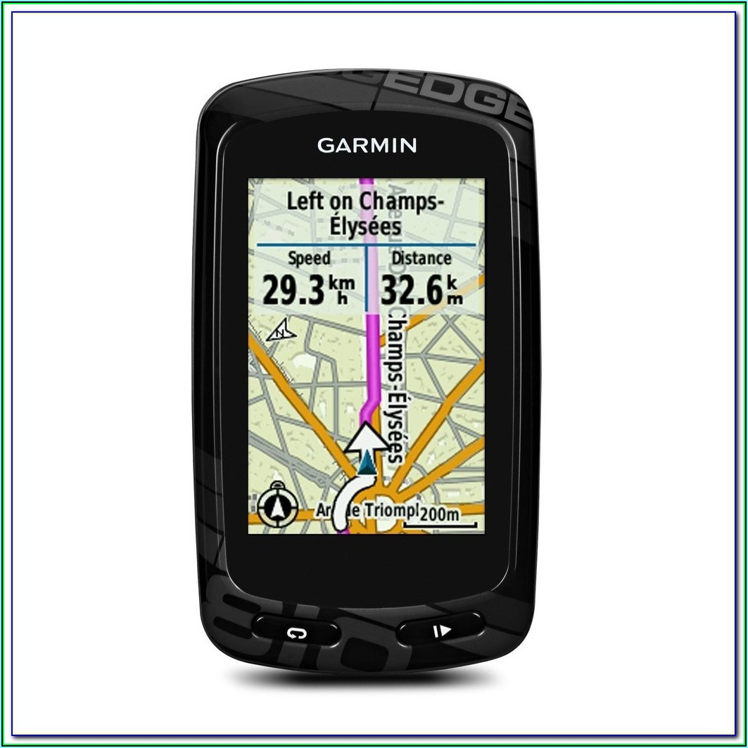 Maps For Garmin Edge 810