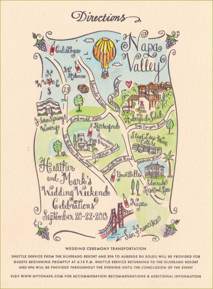 Maps Napa Valley