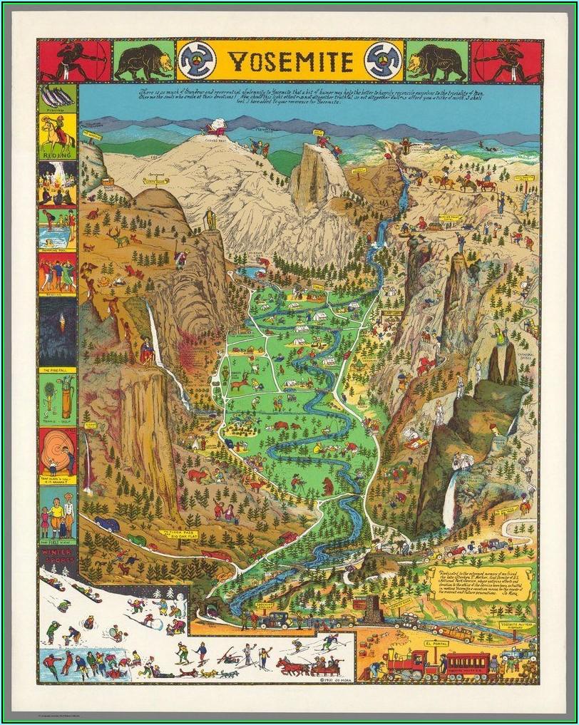 Maps Of Yosemite National Park