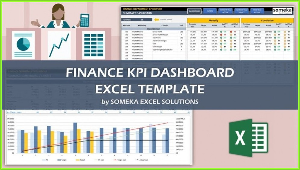 Marketing Kpi Excel Template Free Download