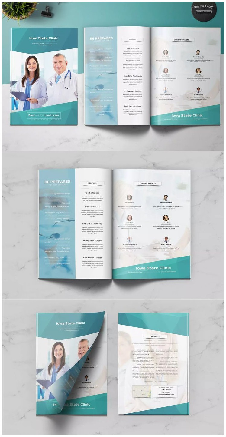 Medical Brochure Templates Free Download Word