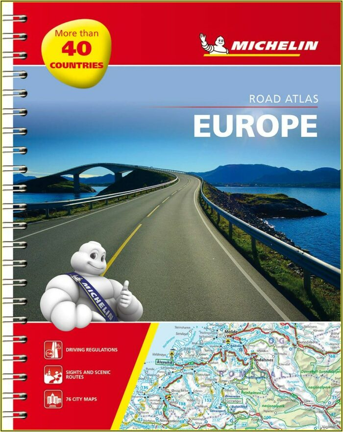 Michelin Driving Maps Europe