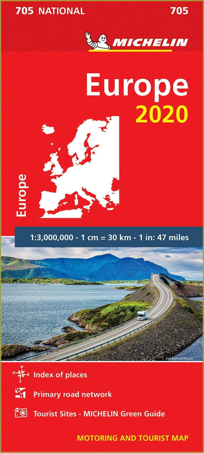 Michelin Europe Map 2020