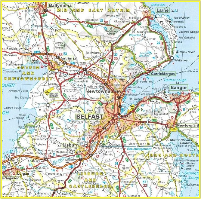 Michelin Ireland Map 712