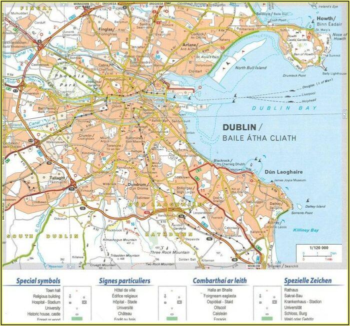 Michelin Map Northern Ireland