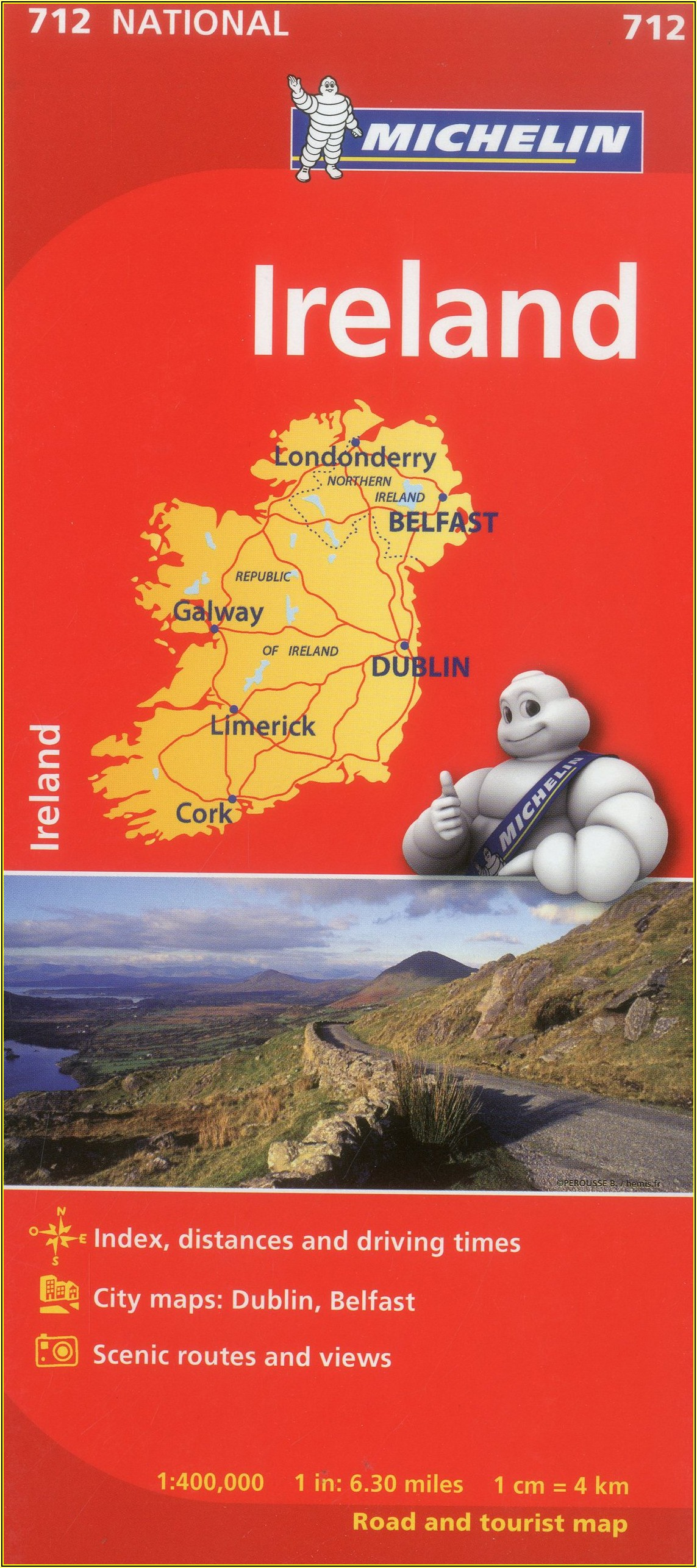 Michelin Maps Ireland