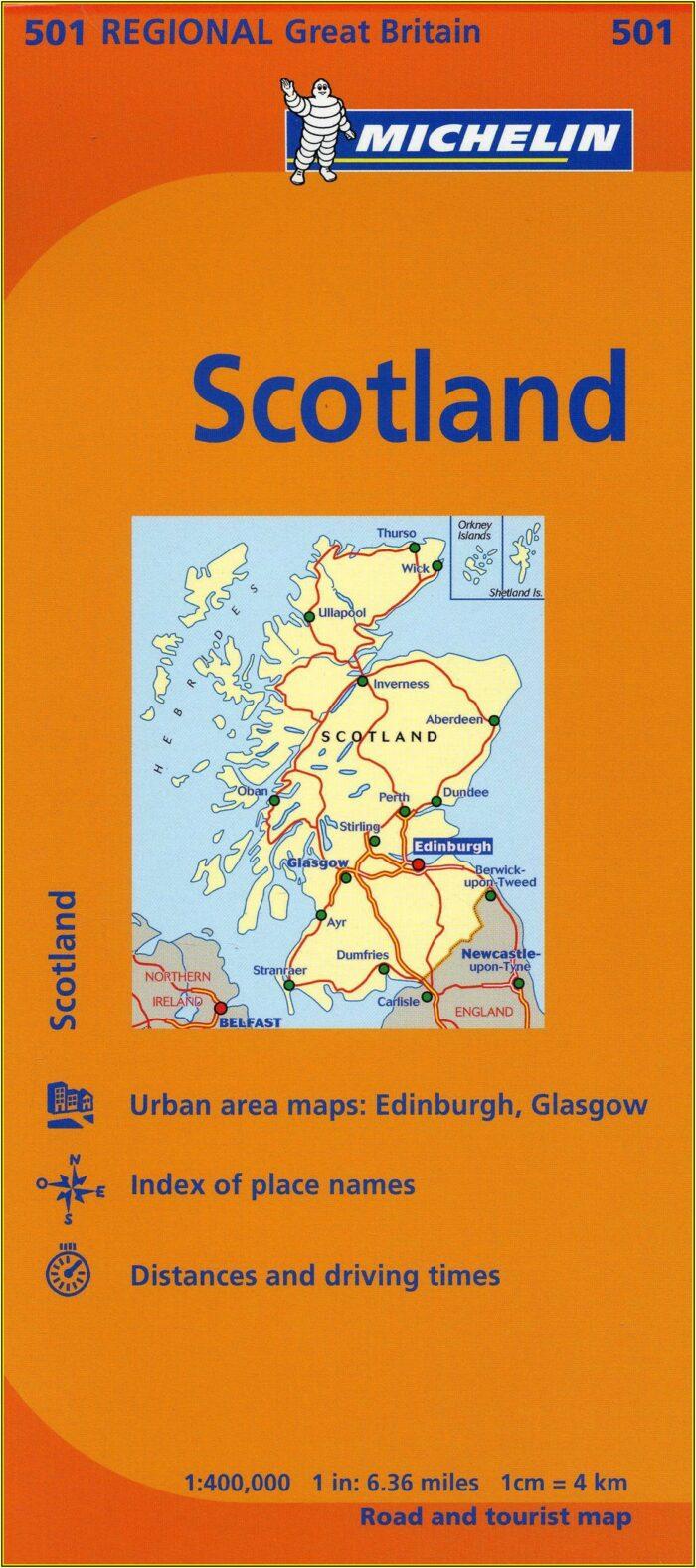 Michelin Route Maps Ireland