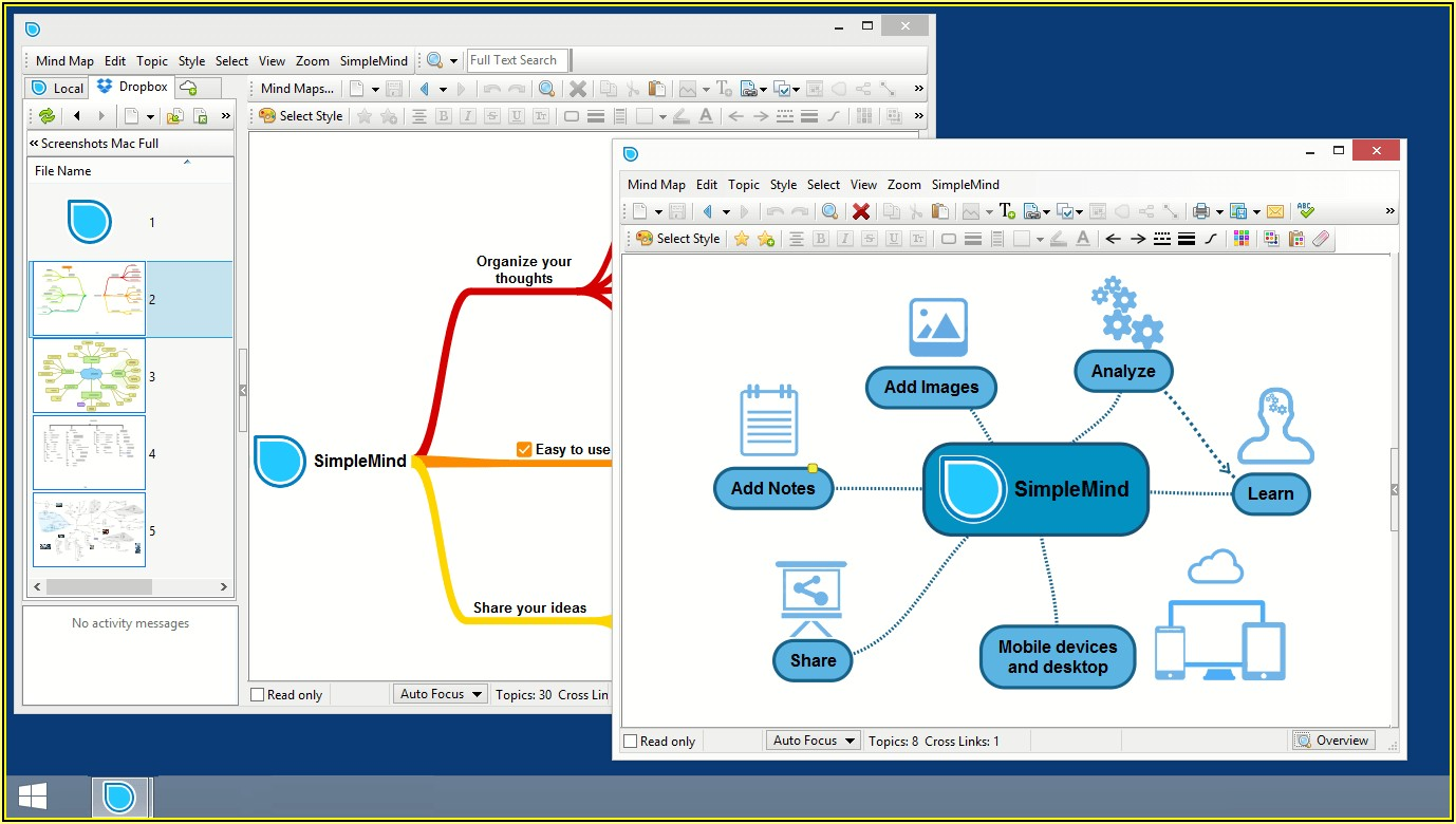 Mind Map Tool Free Windows