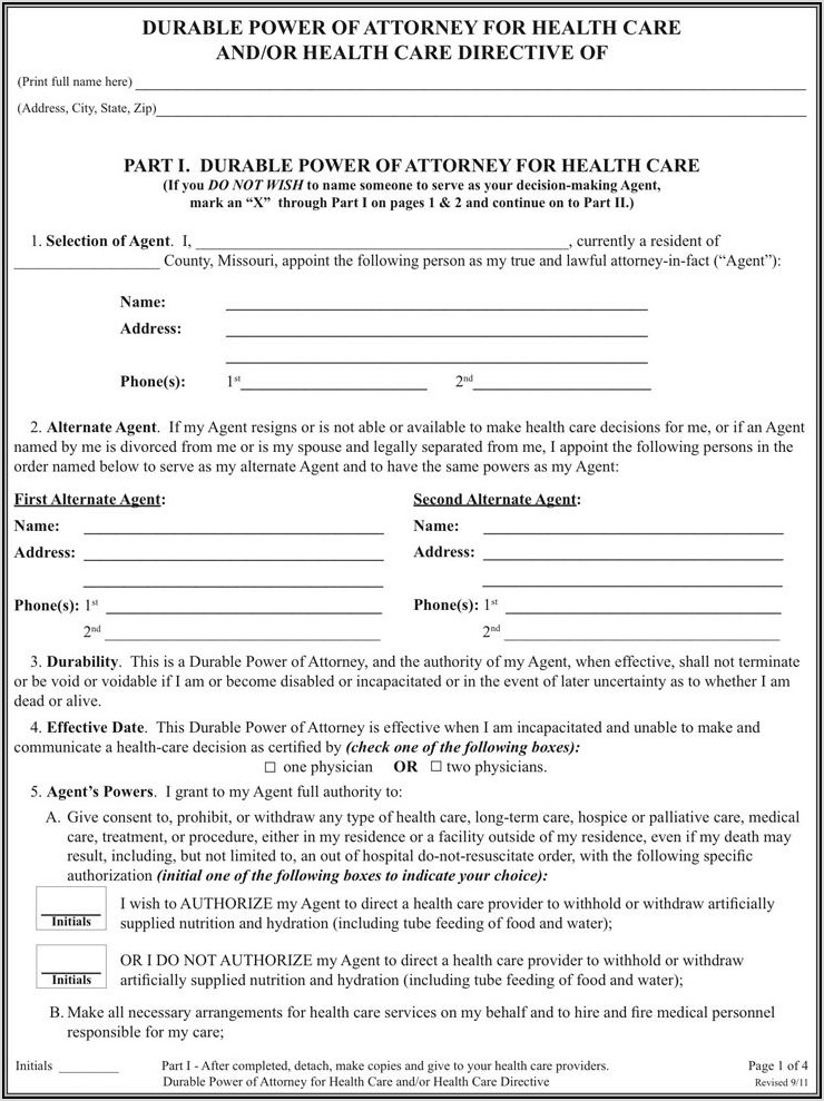 Missouri Divorce Forms Pdf