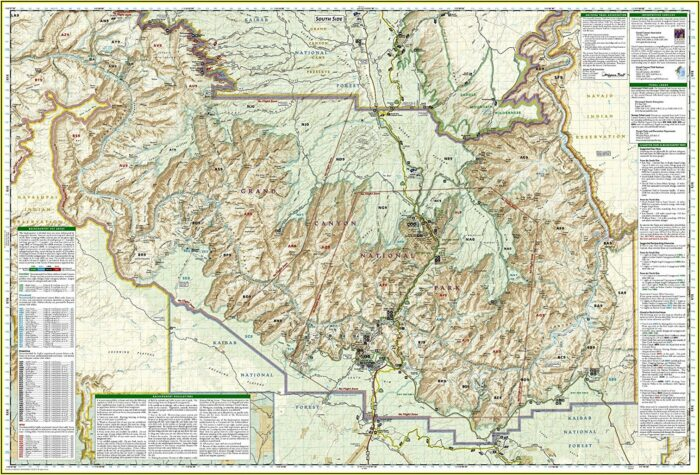 National Geographictrails Illustrated Map #791