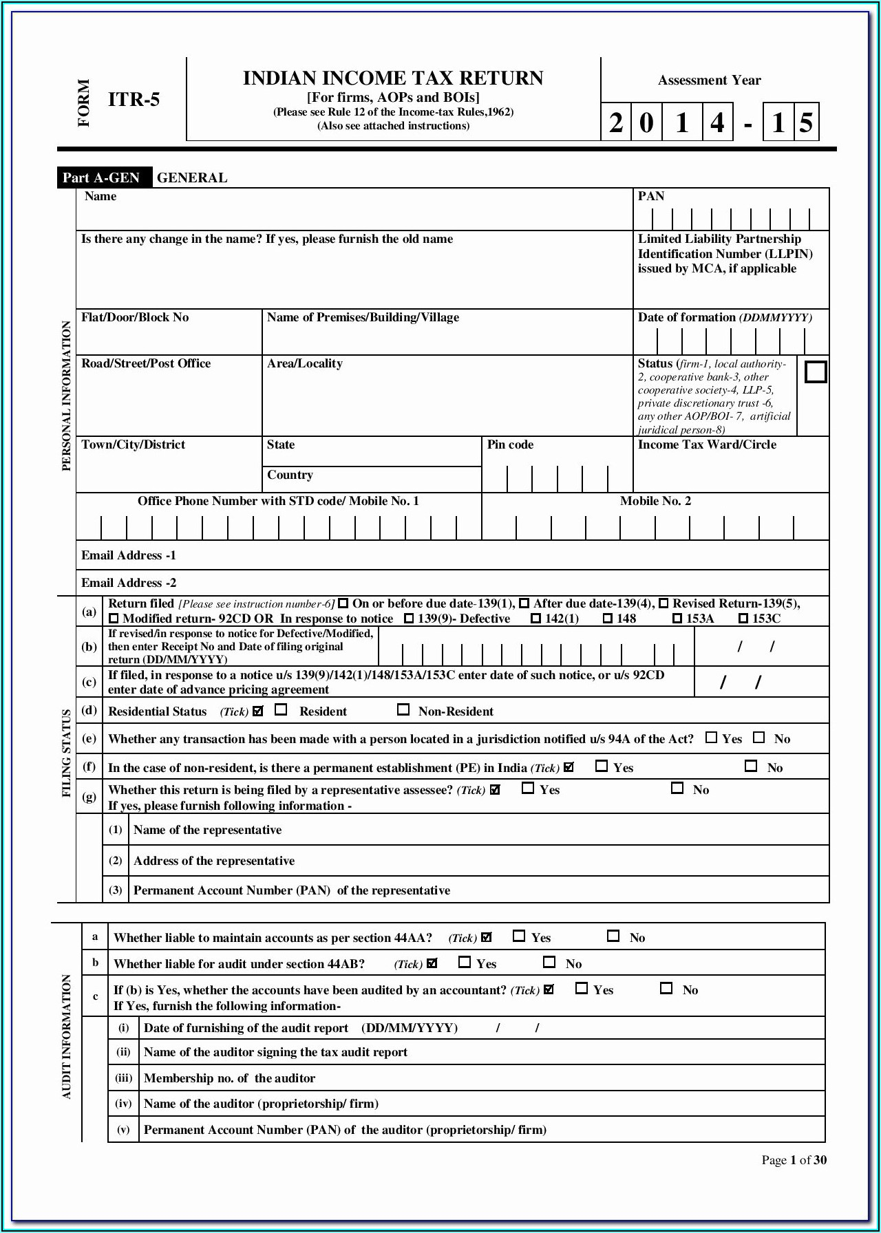 Ohio State Tax Forms 1040ez