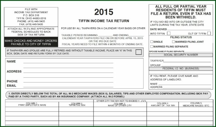 Ohio.gov Income Tax Forms