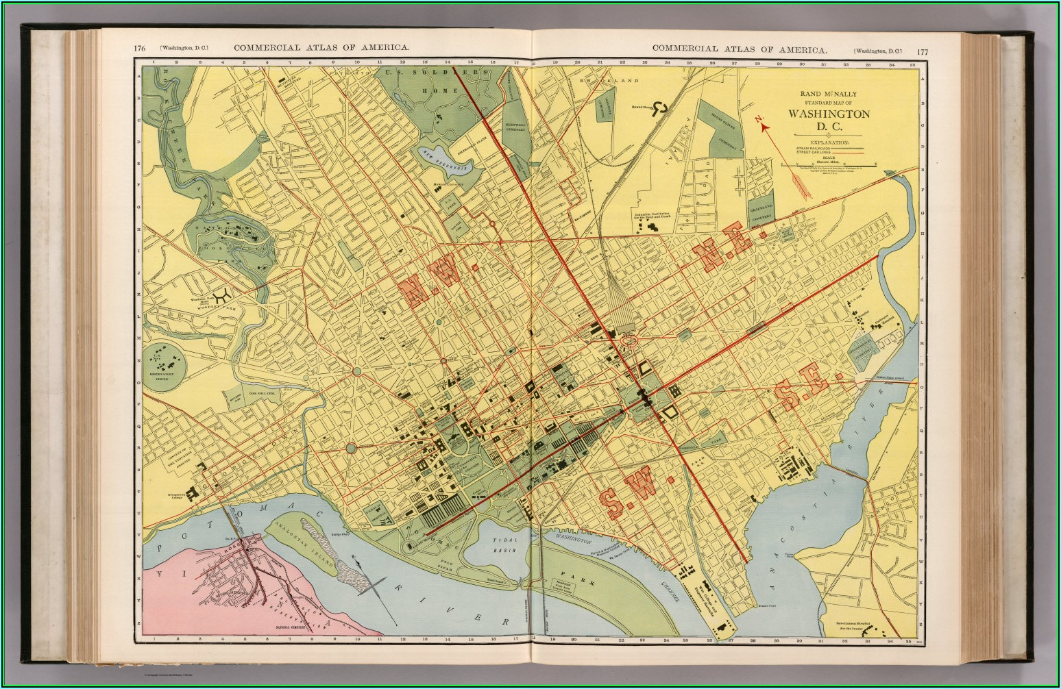 Old Maps Of Washington Dc For Sale