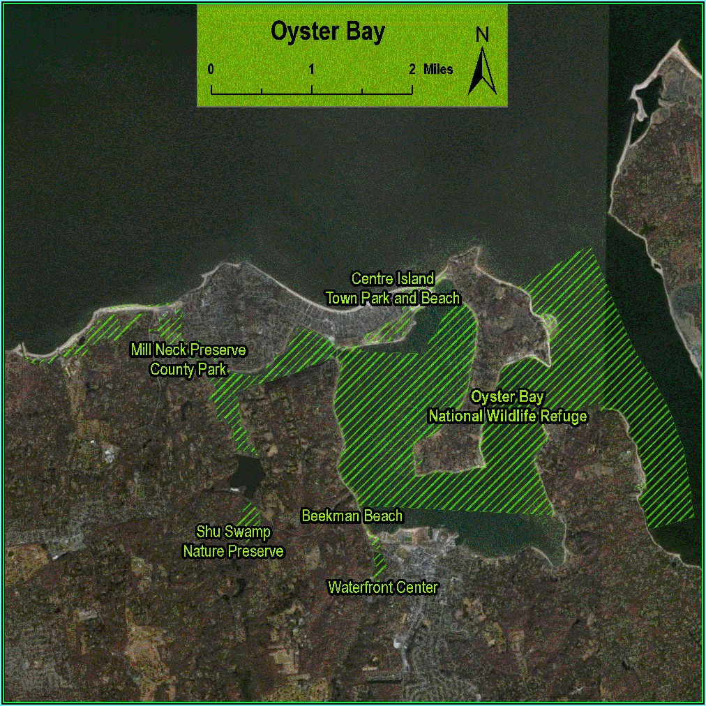 Oyster Bay Ny Gis Map