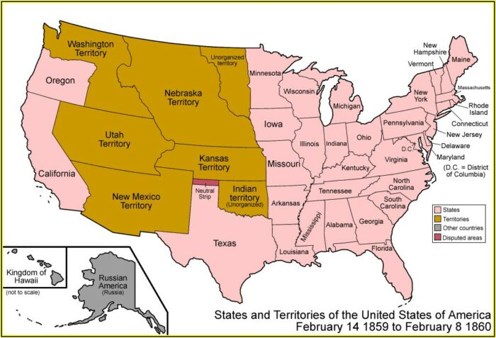 Powerpoint Map Of Usa States