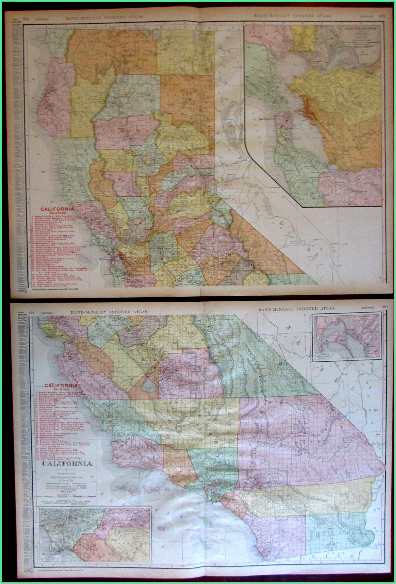 Rand Mcnally California State Map